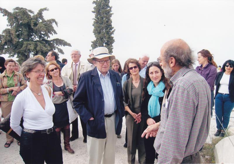 Cyril Mango Acropolis tour